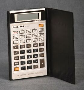 Radio Shack EC-4021 Programmable Scientific Calculator - Vintage