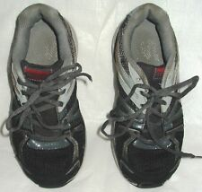 Skechers Gray and Black Performance Run Shoes Big Boy's Size 3