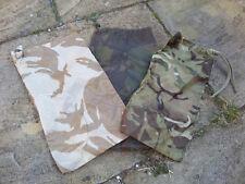 BRITISH ARMY SURPLUS DESERT DPM,WOODLAND DPM OR MTP CAMOUFLAGE NYLON BASHA BAG