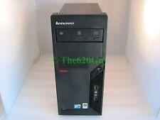 Lenovo M58p Mt Mini Tower Computer Core 2 Duo E8400 Dual 3Ghz 4Gb 160Gb Dvdrw
