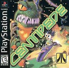Centipede (Sony Ps1) Black Label Complete Free Fast Shipping
