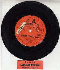"SLIM DUSTY Duncan (Version 1 & 2)  7"" 45 rpm vinyl record + juke box title strip"