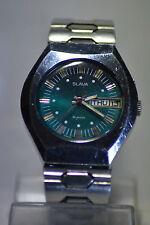 """Slava"" ~26J cal.2428  Vintage Circa 1970's Day&Date Russian  Men's Wristwatch"""