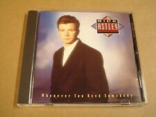 CD / RICK ASTLEY - WHENEVER YOU NEED SOMEBODY