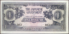 Japanese government - 1 one dollar - 1942 - occupation of Malaya - banana money