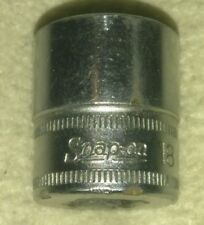 "Snap-On 3/8"" Drive 18mm Metric 6 point Socket FSM181 USA ..."