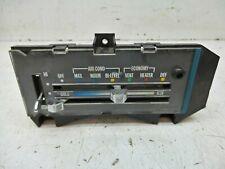 70-81 Camaro A/C Air Conditioning Vent Controls Heat And Ac Original (Damaged!)