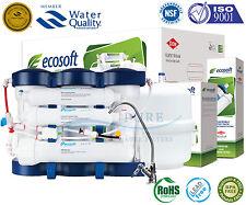 ECOSOFT Premium mineral Sistema de Osmosis inversa de 6 etapas con membrana Filmtec DOW