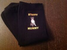 STAFFY MUMMY SOCKS BIRTHDAY MOTHERS DAY PRESENT MUM STAFFORDSHIRE BULL TERRIER