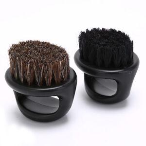 horse hair men's shaving brush barber salon  facial beard cleaning shave M^RI