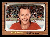 BOB WALL 66-67 TOPPS 1966-67  NO 49 EX+ 12757