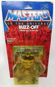 Vintage 1982 Mattel MOTU Buzz-Off Figure & Mini Comic Book Made in China Sealed