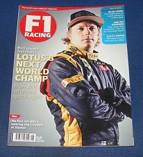 F1 RACING JUNE 2012 - LOTUS'S NEXT WORLD CHAMP