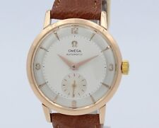 Omega Automatic Watch 18k SOLID GOLD - Cal 491 -34mm Diameter