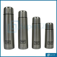 Thermos Flask Thermal Insulated Heavy Duty Stainless Steel Hot Cold Coffee Soup