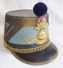 SHAKO 1870/1914 WWI CASOAR OFFICIER ECOLE SPÉCIALE MILITAIRE ESM ST CYR ORIGINAL