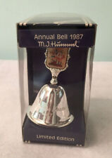 Hummel Silver Plated Annual Bell Limited Ed 1987 Follow the Leader West Germany