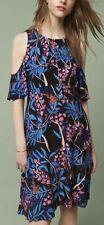 NWT Anthropologie Elia Open-Shoulder Summer Dress by Maeve SZ 8 floral $138 NEW