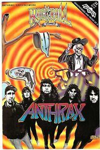 "Rock N'  Roll Comics #24 (1991) NM 1st Printing  ""Anthrax - Faith No More"""