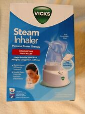 VICKS STEAM INHALER V1200 PERSONAL STEAM THERAPY allergies, congestion, cold