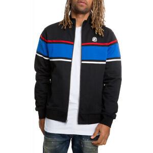 Billionaire Boys Club Tech Track Jacket Men's Black / Blue 891-1401 SZ L NEW