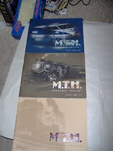 9-MTH ELECTRIC TRAINS CATALOGS: 1999 and 2000