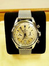 Breitling Stainless Steel Band Luxury Adult Wristwatches