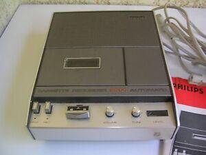 lecteur enregistreur de cassette audio PHILIPS ref 2204