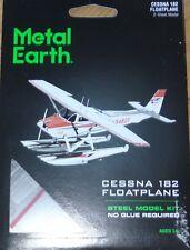 Cessna 182 Floatplane Metal Earth 3D Laser Cut Metal Model MMS111 Plane