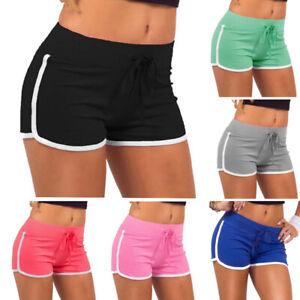 Women Sport Shorts Sexy Skinny Patchwork Shorts Yo-Ga Short Pants Underpant