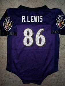 *IRREGULAR* Ravens RAY LEWIS nfl INFANT BABY NEWBORN Jersey 24M M 24 Months
