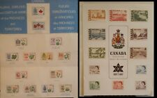 Canada 1967 Floral Emblems & Coats of Arms Souvenir Card & Centennial Issue Card