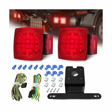 AMBOTHER LED Boat Trailer Lights Kit Submersible Tail Light Running Stop Turn...