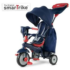 smarTrike Swirl 4-in-1 Baby Tricycle 15-36  smart trike - Navy Red