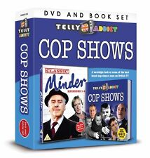 TELLY ADDICTS COP SHOWS DVD AND BOOK GIFT SET - THE FIRST MINDER EPISODES 1 - 4