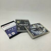 Sony PlayStation 3 PS3 Video Game Bundle Lot of 3 Call Of Duty Games Genuine