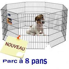Parc Enclos Park Savic Chiot Animaux 61x61cm 8 Éléments Tour 4 50m Porte