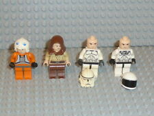 Lego ® Star Wars 4x personaje Clone Trooper Jedi 10188 75159 75192 9516 accesorios f925