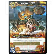 WOW TCG World of Warcraft - LANDRO'S LIL' XT - Unscratched Loot Card - FREE P+P