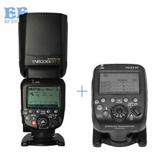 Yongnuo YN600EX-RT II Flash Speedlite + YN-E3-RT Transmitter Trigger for Canon