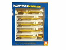 HO Union Pacific 48' Spine Car 5-Unit #252507 - Walthers  Mainline #910-5260