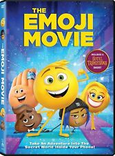 The Emoji Movie DVD ***AUTHENTIC, ORIGINAL,  FREE FIRST CLASS SHIPPING!!!