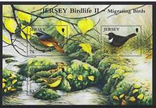 Jersey 2008 Birdlife II - Migrating Oiseaux Bloc-Feuillet Montés, MNH