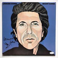 LEONARD COHEN  JSA  signed autograph LP  Proof