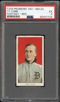 Very Rare 1909-11 T206 Ty Cobb Red Portrait Detroit HOF PSA 5 EX HIGH END!
