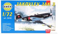 SMER 0836 Jakovlev JAK3, Flugzeug, UDSSR, Bausatz, 1:72