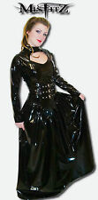 Misfitz black pvc buckle gothic ballgown, sizes 8-32/made to measure goth TV CD