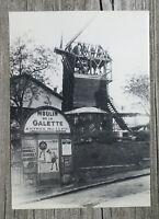 Vintage Postcard Paris 1900 Moulin De La Galette Roger Viollet