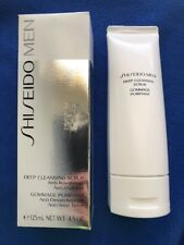 NIB Shiseido Men Deep Cleansing SCRUB Anti-Roughness 125ml 4.5 oz