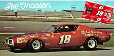 CD_2890 #18 Joe Frasson 1972 Dodge Charger  1:64 Scale Decals